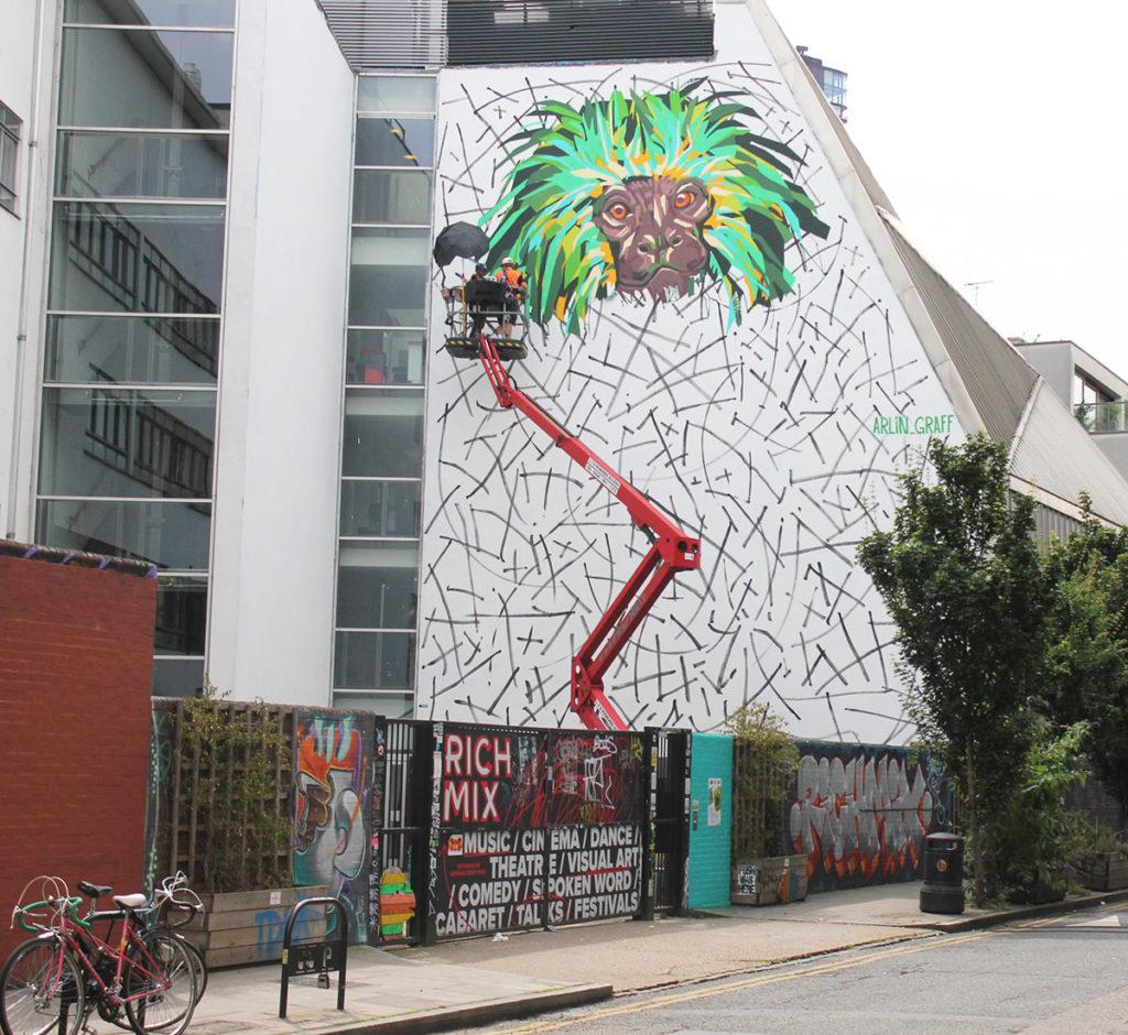 Street Art London Redchurch Street