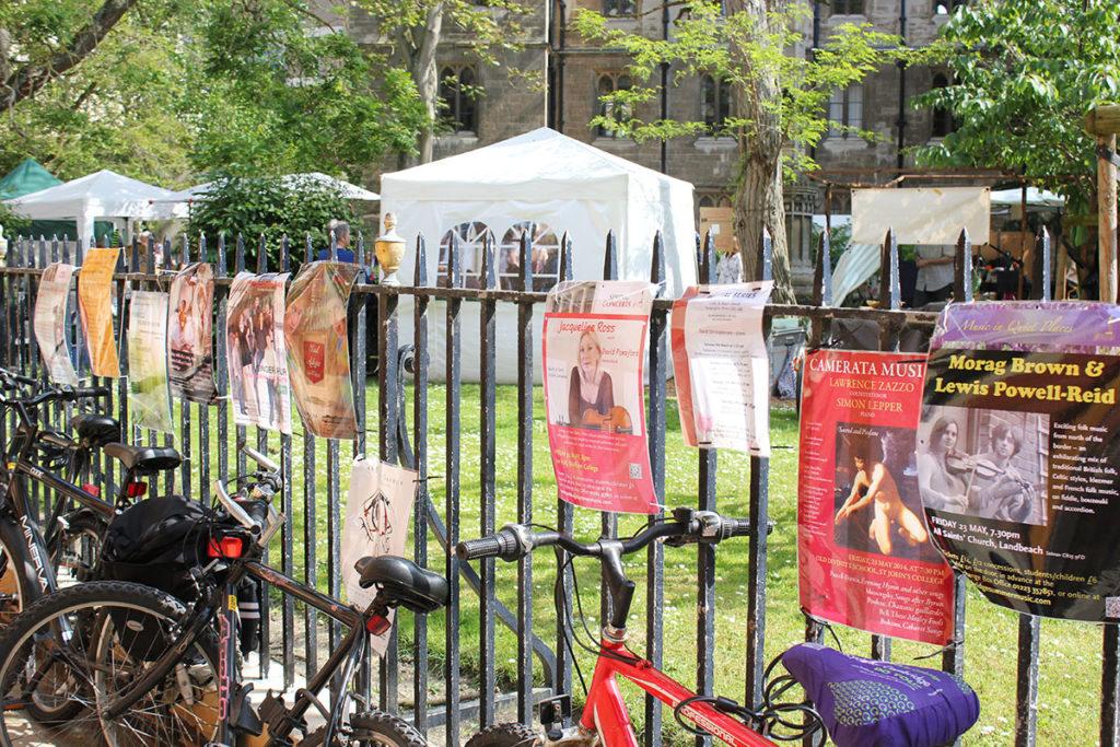 All Saints Garden Cambridge
