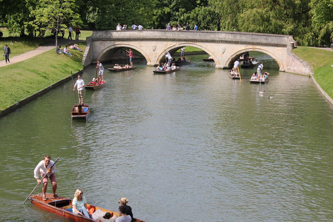 Trinity Bridge The Backs Cambridge
