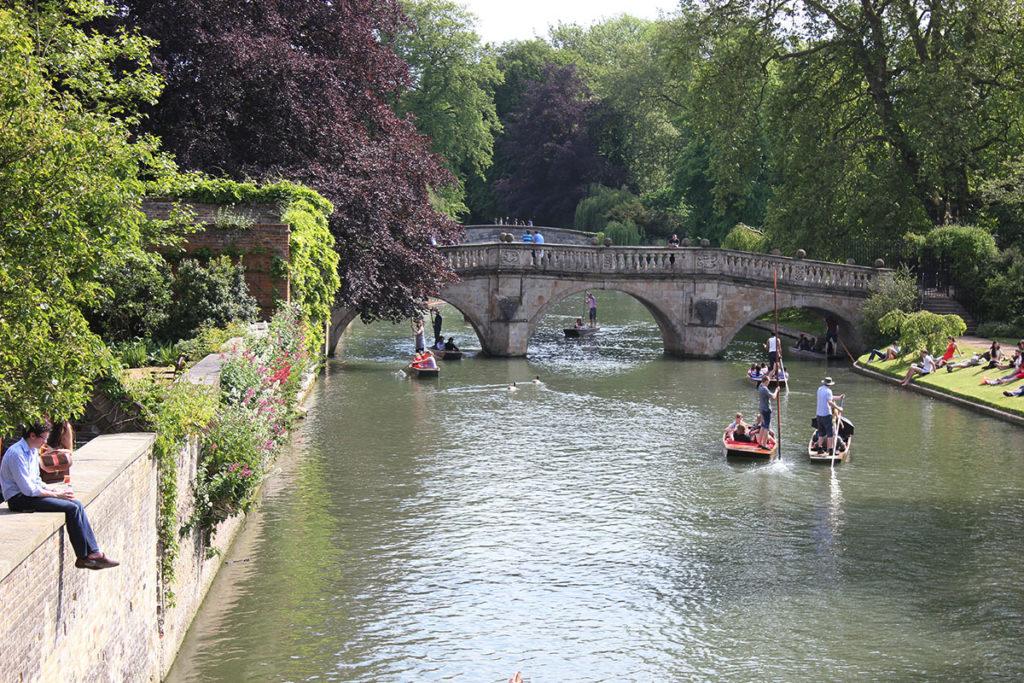 Clare Bridge Cambridge The Cambridge Backs