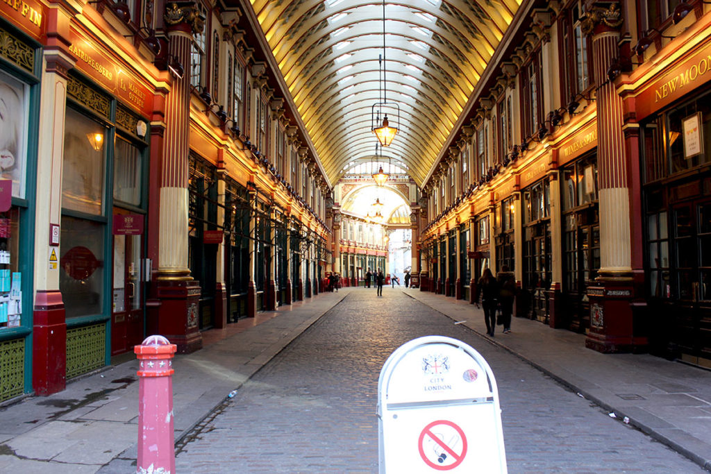 Leadenhall Market City of London