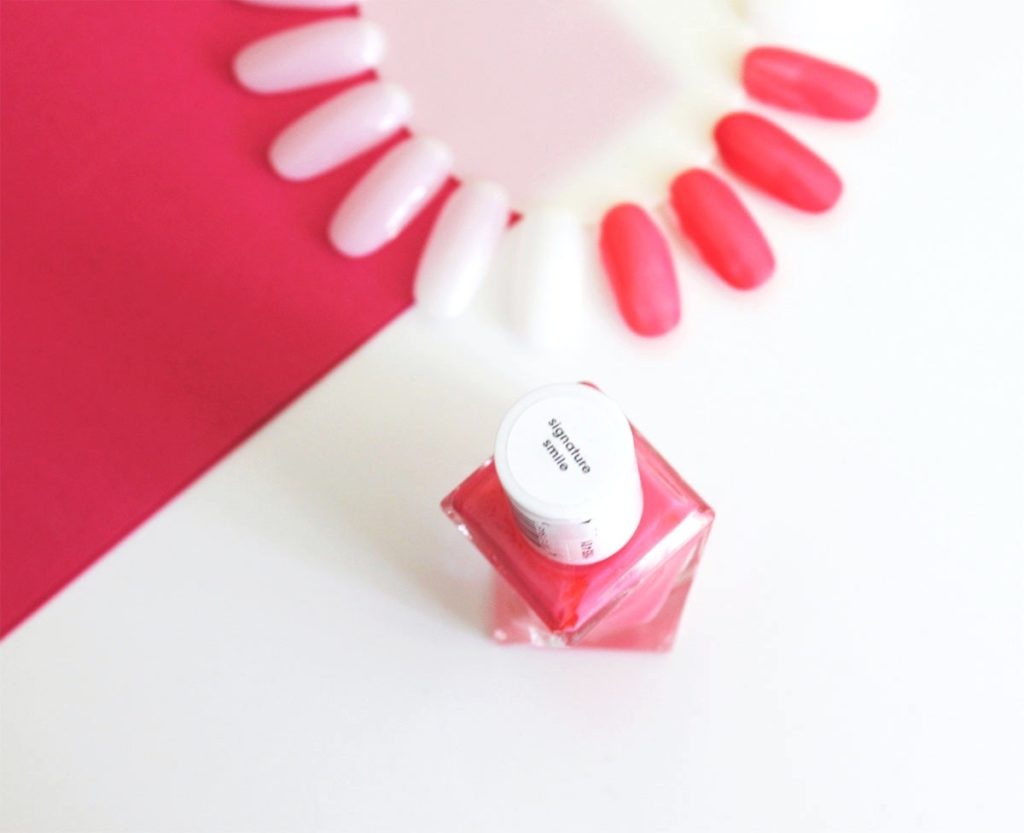 Essie Gel Couture Signature Smile nail polish swatch