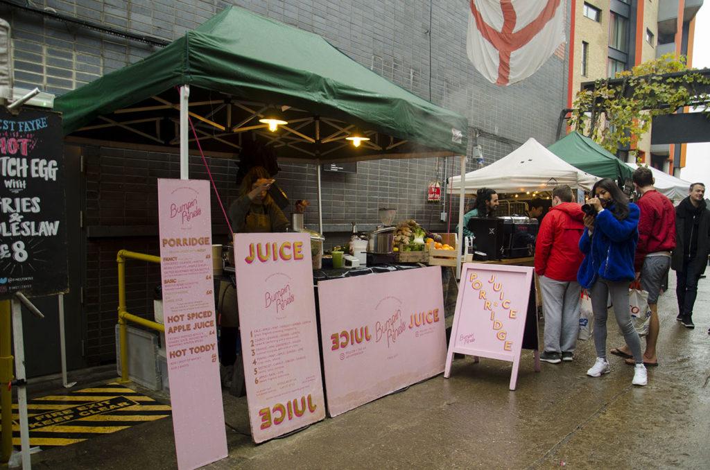 Maltby Street Market Ropewalk London