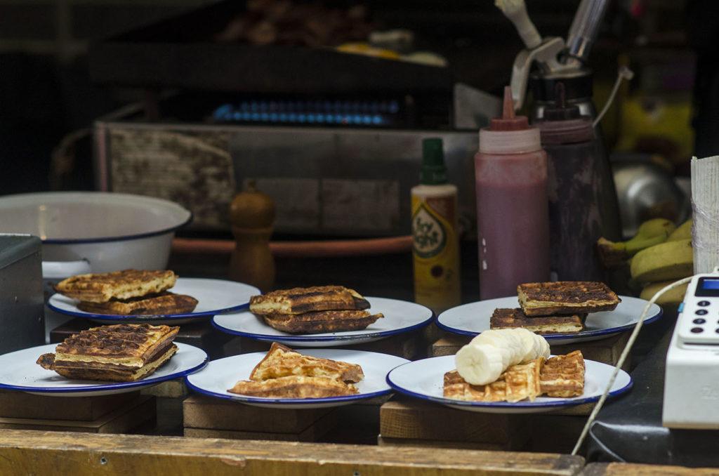 Waffles Maltby Street Market London