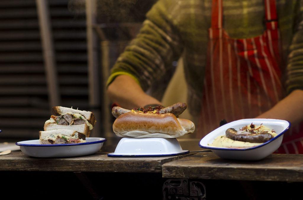 Hot Dog Maltby Street Market London