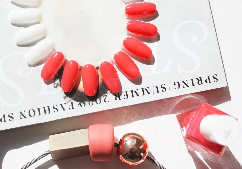 Essie Sizzling Hot Nail Polish Swatch