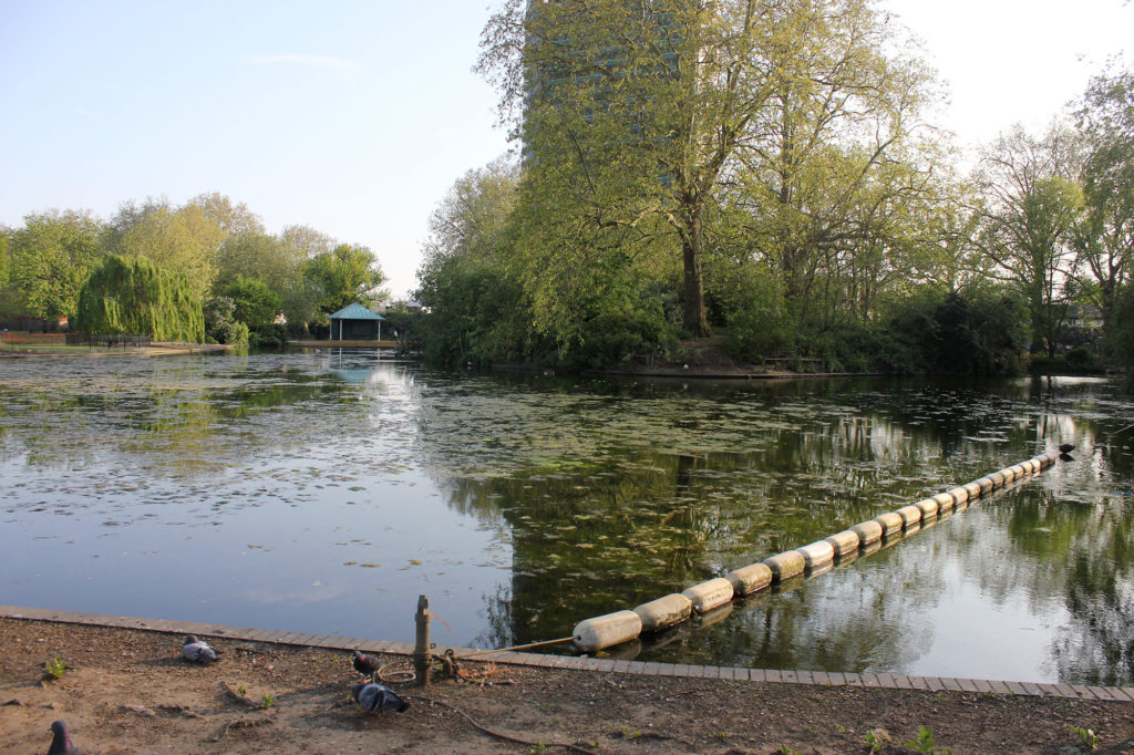 Southwark Park Lake