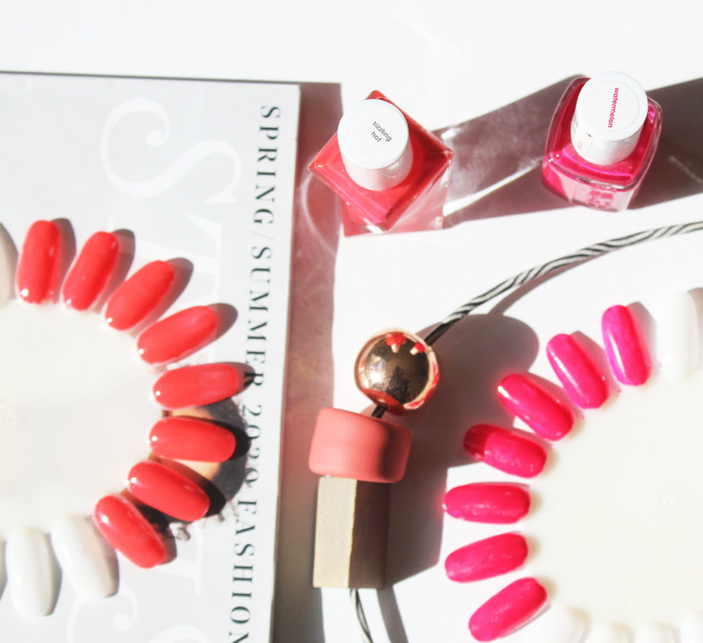 Summer 2020 nail polish colours