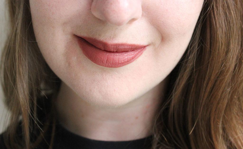 NARS Velvet Matte Lip Pencil in Bahama on Lips