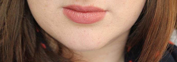 MAC Modesty on Lips