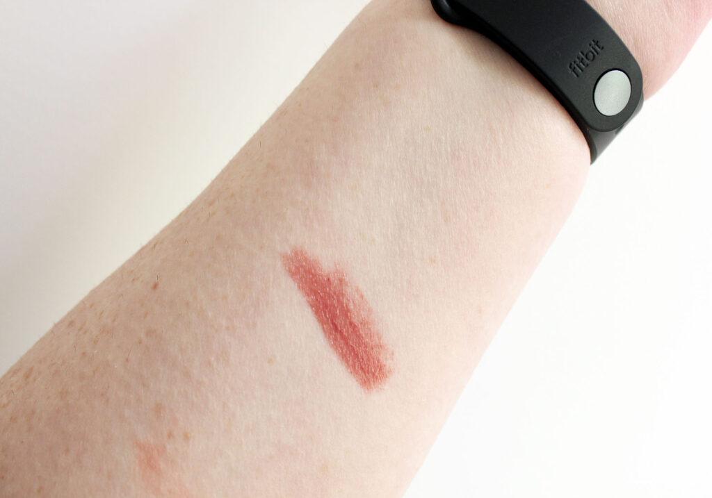 NARS Dolce Vita Sheer Lipstick Swatch