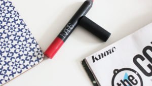 NARS Velvet Matte Lip Pencil in Dragon Girl review