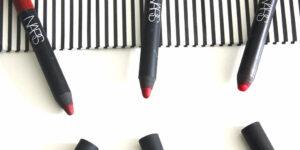 NARS Red Velvet Matte Lip Pencils Consuming Red Cruella Dragon Girl